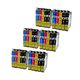 Logic-Seek 30 Tintenpatronen kompatibel zu Epson T1281-T1284 XL