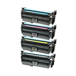 Logic-Seek 4 Toner kompatibel zu HP CE260A CF031A-CF033A HC