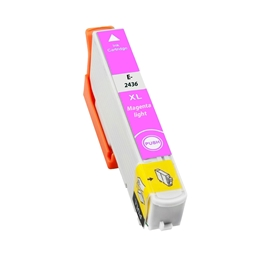 Logic-Seek  Tintenpatrone kompatibel zu Epson Stylus XP750 24XL C13T24364010 XL Photo Magenta