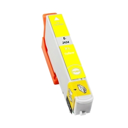 Logic-Seek  Tintenpatrone kompatibel zu Epson Stylus XP750 24XL C13T24344010 XL Yellow