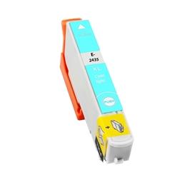Logic-Seek  Tintenpatrone kompatibel zu Epson Stylus XP750 24XL C13T24354010 XL Photo Cyan