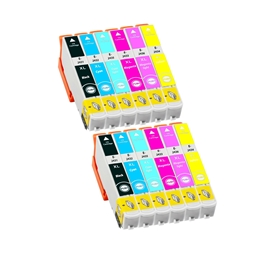 Logic-Seek 12 Tintenpatronen kompatibel zu Epson 24XL XL