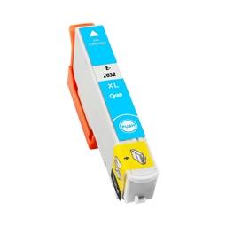 Logic-Seek  Tintenpatrone kompatibel zu Epson Stylus XP600 26XL C13T26324010 XL Cyan