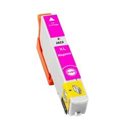 Logic-Seek  Tintenpatrone kompatibel zu Epson Stylus XP600 26XL C13T26334010 XL Magenta