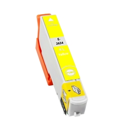 Logic-Seek  Tintenpatrone kompatibel zu Epson Stylus XP600 26XL C13T26344010 XL Yellow