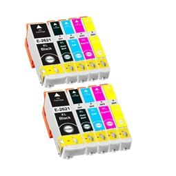 Logic-Seek 10 Tintenpatronen kompatibel zu Epson 26XL XL
