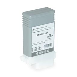 Logic-Seek  Tintenpatrone kompatibel zu Canon PFI-103GY 2213B001 XL Grau