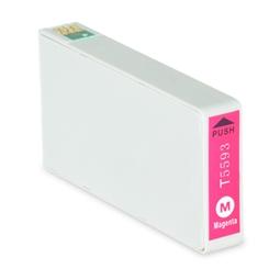 Logic-Seek  Tintenpatrone kompatibel zu Epson Stylus RX700 T5593 C13T55934010 XL Magenta