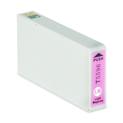 Logic-Seek  Tintenpatrone kompatibel zu Epson Stylus RX700 T5596 C13T55964010 XL Photo Magenta