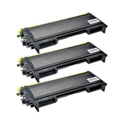 Logic-Seek 3 Toner kompatibel zu Brother TN-2000 HC Schwarz