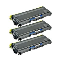 Logic-Seek 3 Toner kompatibel zu Brother TN-2120 HC Schwarz
