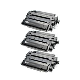 Logic-Seek 3 Toner kompatibel zu HP 55X CE255X HC Schwarz