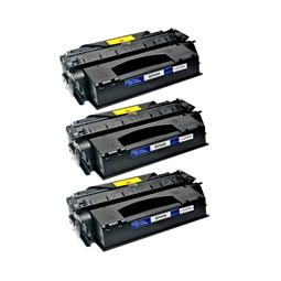 Logic-Seek 3 Toner kompatibel zu HP 53X Q7553X HC Schwarz