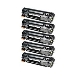 Logic-Seek 5 Toner kompatibel zu HP 85A CE285A HC Schwarz