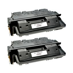 Logic-Seek 2 Toner kompatibel zu HP 61X C8061X HC Schwarz
