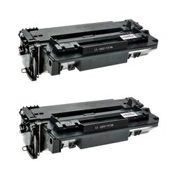 Logic-Seek 2 Toner kompatibel zu HP 11X Q6511X HC Schwarz