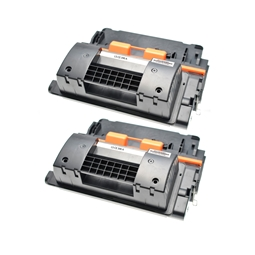 Logic-Seek 2 Toner kompatibel zu HP 90A CE390A HC Schwarz