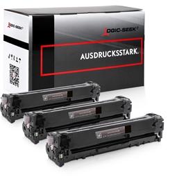 Logic-Seek 3 Toner kompatibel zu HP 131X CF210X HC Schwarz