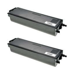 Logic-Seek 2 Toner kompatibel zu Brother TN-6600 HC Schwarz
