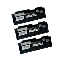 Logic-Seek 3 Toner kompatibel zu Kyocera TK-17 1T02BX0EU0 HC Schwarz