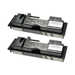 Logic-Seek 2 Toner kompatibel zu Kyocera TK-18 1T02FM0EU0 HC Schwarz