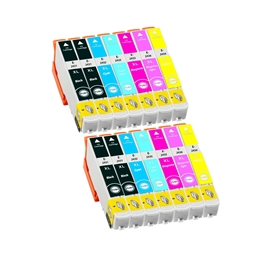 Logic-Seek 14 Tintenpatronen kompatibel zu Epson 24XL XL