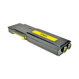 Logic-Seek  Toner kompatibel zu Dell C3760 F8N91 593-11120 HC Yellow