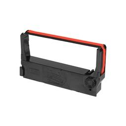 Logic-Seek Farbband kompatibel zu Epson ERC-23-BR C43S015216 Schwarz/Rot