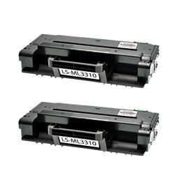 Logic-Seek 2 Toner kompatibel zu Samsung ML-3310 MLT-D205S/ELS HC Schwarz