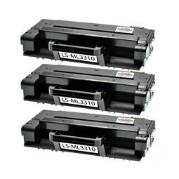 Logic-Seek 3 Toner kompatibel zu Samsung ML-3310 MLT-D205S/ELS HC Schwarz