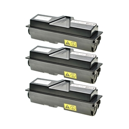 Logic-Seek 3 Toner kompatibel zu Kyocera TK-140 1T02H50EU0 UHC Schwarz