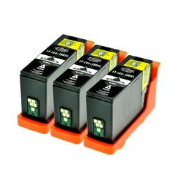Logic-Seek 3 Tintenpatronen kompatibel zu Lexmark 150XLA 14N1636 XL Schwarz