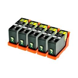 Logic-Seek 5 Tintenpatronen kompatibel zu Lexmark 150XLA 14N1636 XL Schwarz