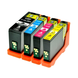 Logic-Seek 4 Tintenpatronen kompatibel zu Lexmark 150XLA XL