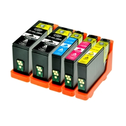 Logic-Seek 5 Tintenpatronen kompatibel zu Lexmark 150XLA XL