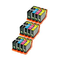 Logic-Seek 12 Tintenpatronen kompatibel zu Lexmark 150XLA XL