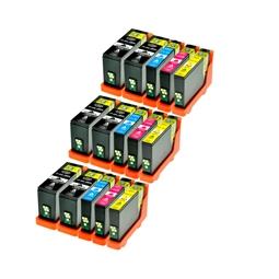 Logic-Seek 15 Tintenpatronen kompatibel zu Lexmark 150XLA XL