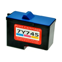 Logic-Seek  Tintenpatrone kompatibel zu Dell A940 7Y745 592-10045 XL Color