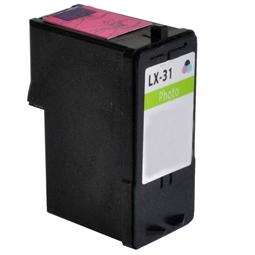 Logic-Seek  Tintenpatrone kompatibel zu Lexmark 31 18C0031E XL Photo
