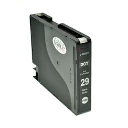 Logic-Seek  Tintenpatrone kompatibel zu Canon PGI-29DGY 4870B001 XL Dunkel Grau