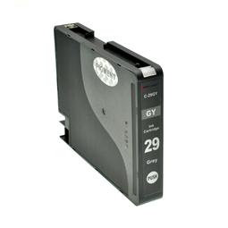 Logic-Seek  Tintenpatrone kompatibel zu Canon PGI-29GY 4871B001 XL Grau