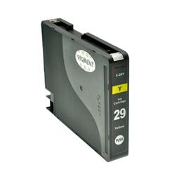 Logic-Seek  Tintenpatrone kompatibel zu Canon PGI-29Y 4875B001 XL Yellow