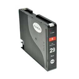 Logic-Seek  Tintenpatrone kompatibel zu Canon PGI-29R 4878B001 XL Rot