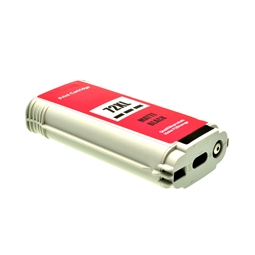 Logic-Seek  Tintenpatrone kompatibel zu HP 72 C9403A XL Matt Schwarz