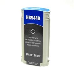 Logic-Seek  Tintenpatrone kompatibel zu HP 70 C9449A XL Photo Schwarz