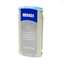 Logic-Seek  Tintenpatrone kompatibel zu HP 70 C9451A XL Light Grau