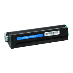 Logic-Seek  Toner kompatibel zu OKI B440 XL 43979216 UHC Schwarz