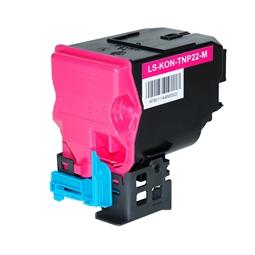 Logic-Seek  Toner kompatibel zu Konica Bizhub TNP-22M A0X5352 HC Magenta