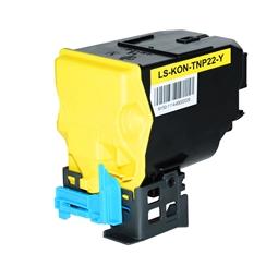 Logic-Seek  Toner kompatibel zu Konica Bizhub TNP-22Y A0X5252 HC Yellow