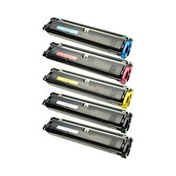 Logic-Seek 5 Toner kompatibel zu Epson C900 C1900 HC